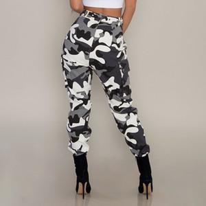 Nouveau Femmes Pantalon De Camouflage À La Taille Haute De Mode Pantalon Femme Pantalon Plus La Taille 3XL Pantalon De Survêtement Streetwear Camo Pants Femelle
