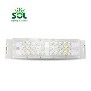 Custom Aluminium 50W Cob DC LED Street Light Module With Optical Lens 2835 SMD IP67 Waterproof