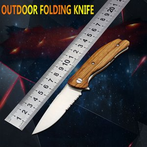 D2 steel folding knife outdoor survival portable pocket self-defense small folding knife sharp multi-function knife EDC