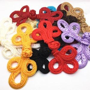 10 pares grandes Artesanato decoração tradicional Botões clássico chinês Sapo Encerramento Botões Knot Fastener para Suits Cheongsam Tang