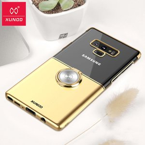 Para Samsung Galaxy Note 9 Note 8 Funda Xundd Finger Ring Buckle Cubierta de la PC dura para Galaxy Note 9 funda con soporte para anillo
