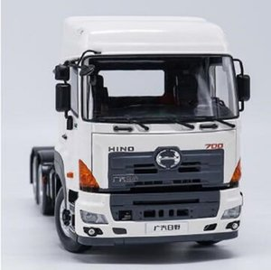 2020 New Exquisite,Collectible Alloy Model Gift 1:24 HINO 700 Heavy Duty Truck Tractor Trailer Vehicles DieCast Toy Model for Decoration