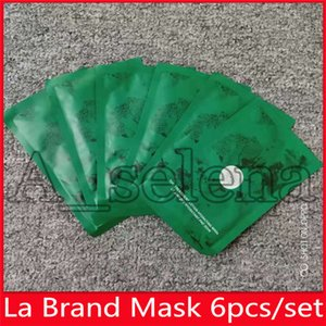 Trasporto caldo di goccia famoso La marca di riparazione del fronte Mask La lozione Trattamento Idratante Maschera 6 pezzi kit di maschere per il viso