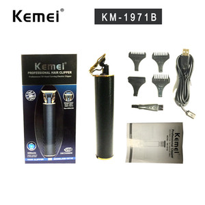 Kemei 1971 1971b Pro Li T-Outliner Skeleton Heavy Hitter Cordless Trimmer Männer Baldheaded Haarschneider Haarschneide Styling-Werkzeug
