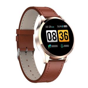 Q9 Smart Watch wasserdicht Nachricht Anruf Erinnerung Smartwatch Männer Pulsmesser Mode Fitness Tracker für iPhone Android Handy