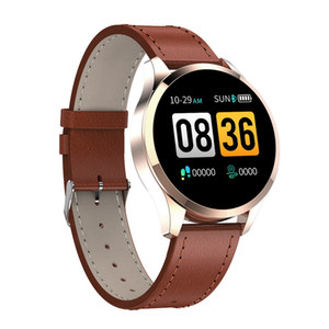 Q9 relógio inteligente chamada Waterproof mensagem lembrete Smartwatch homens Heart Rate Monitor Moda de Fitness Tracker for Cell Phone iPhone Android