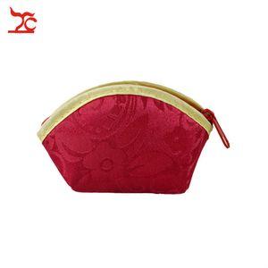 Schmuck BagsRed Silk Tuch-Beutel-Geschenk-Schmucksache-Ring-Armband-Speicher-Beutel-Münzen-Purse 6pcs / lot