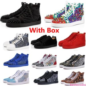 2020 release newest arrivals limited edition fashion shoes men desinger luxury casual reds bottoms with sz 36-45 cheap price