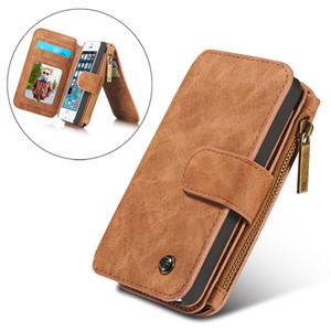Luxus case für iphone xs max / xr brieftasche case, vintage leder flip book style handy taschen für iphone x se 6 6 plus coque