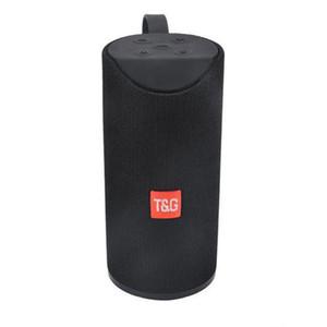 TG 113 Bluetooth Outdoor Speaker Waterproof Portable Wireless Column Loudspeaker Box Support TF Card FM Radio Aux Input