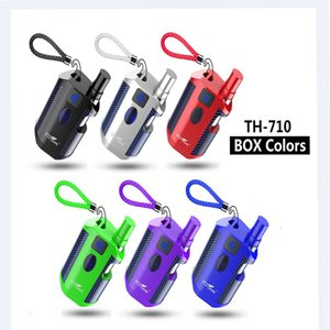 100% Original Kangvape TH 710 Box Mod Starter Kits 650Mah Battery 0.5ml Carts Ceramic Cartridges E Cigarettes