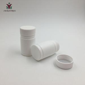 30cc HDPE esterilizados botellas vacías comprimido farmacéutico / píldora / contenedor, de plástico blanco de la botella de píldora 100 + 2sets / lot