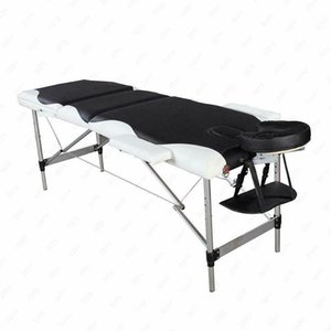 Aluminum Folding 3 Pad Massage Table Facial SPA Bed Tattoo Carry Case