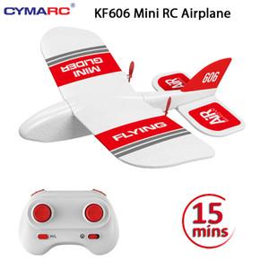 KF606 2.4 Ghz RC самолет Flying Aircraft EPP Foam Glider Toy Airplane 15 минут Fligt Time RTF Foam Plane Toys детские подарки Y200414