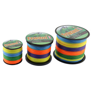 STRONG 9 Strands POWER Braided Fishing Line 500m Japanese green grey yellow Multifilament Fishing line 15lb-310LB Power PE fishing line