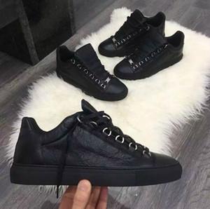 Hommes Classique En Cuir Véritable Femmes Arena Flats Sneakers Mâle Bas-Chaussures Chaussures Mode Casual Chaussures À Lacets Taille 36-46