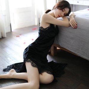 Kadın Lingeries Dantel Lüks Intimo Donna Kadınlar Intimates Seksi Uyku Gecelik Dantel Tasarımcı Pantyhose Kadınlar Külotlu çorap DHL
