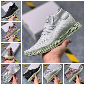 ADIDAS 2020 Yeni Konsorsiyumu 4D Kith Aspen Orta Runner Aspen Yeşil Futurecraft LTD Sneaker Erkek Ayakkabı Spor Eğitmenler Tasarımcı Sneakers Koşu