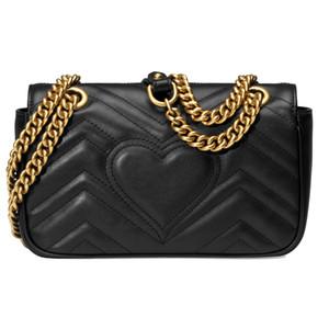 2020 neue Handtaschen-Dame eine Schulter Diagonal Bag Art und Weise beiläufige Qualitäts-Leder-Außen-Licht-Mappe Freies Verschiffen