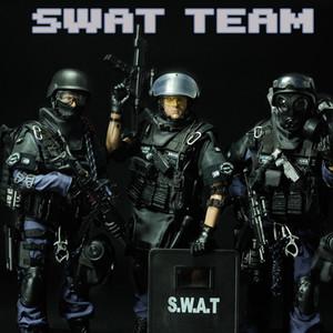PATTIZ Poupées Articulé militaire Jouet, SWAT, police simulation haute de fonctions spéciales, Party Kid » cadeau d'anniversaire, collecte, decotation