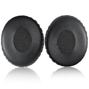 Siyah Kulak Pedleri Yedek Kulak Pedleri Yastıkları Yumuşak Köpük Earpads için QC3 OE / OE1 Üzerinde Kulak OE Kulaklıklar