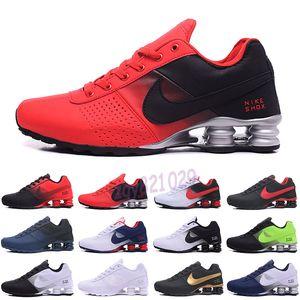 Nike Air Max Shox 809 803 R4 Livrer 809 Coussin TN Chaussures de course Triple Noir Blanc Femmes Sport Baskets homme respirant en plein air Sneakers Athletic 40-46 G52