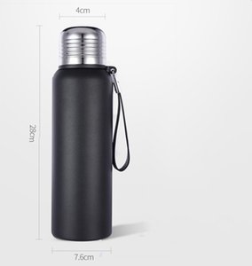 Wholesale Insulated Double Walled 304 Stainless Steel Water Bottle ,500ml,BPA Free, Eco Friendly-Portable With Rope