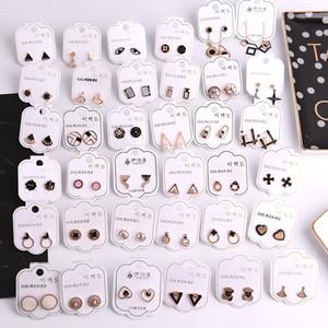 Modedesigner Frauen Ohrringe Koreanischen Stil Charme Ohrring Zurück Ohrstecker Luxus Kristall Diamant Perle Ohrring für Frauen Mädchen