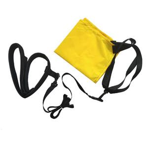 Открытый с тормозным парашютом силовой тренировки бассейн безопасности плавания Пояс Сопротивление Регулируемое Размер Webbing Тренажер