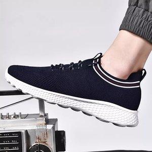Çorap moda Lüks Erkekler Kadınlar Ayakkabı siyah beyaz mavi gri Nefes Sport Sneakers Erkek Trainer Nefes rahat ayakkabı Koşu ile