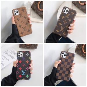 Top Designer für iPhone 11 Pro Max XS XR X 8/7 Plus-Telefon-Kasten-rückseitige Abdeckung Monogramm-Branding für Samsung Galaxy S9 S10 Anmerkung 9 10 Shell A012
