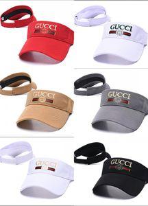 ГОРЯЧИЙ! новый классический гольф шляпа солнцезащитного козырька Солнцезащитного козырек стороны шлем пустой верхняя бейсбольная кепка шляпа спортивного стиль солнцезащитного шлем теннис Пляж упругие шапки