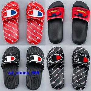 Kids size 4 5 women us 12 slides eur 35 46 Mens Men sandals champion Shoes slippers tennis youth boys golden ciabatte thong green chaussures