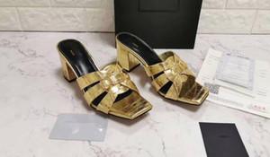 5A Women 6709170 7cm e 9cm Pantofole Tribute Heel, Suola in cuoio, Misura 34-42, DHL Spedizione gratuita