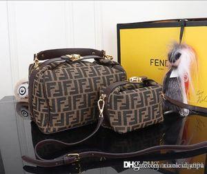 Borse di viaggio degli uomini delle donne borse borsa vera pelle Borse in pelle Keepall 45 spalla Totes 03