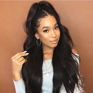 شعر مستعار أوروبي وأمريكي أنثى سوداء طويلة الشعر Life Like Split Long Coler Hair African Parke Chemical Fiber Hair Cover الجملة