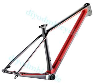 renk yeni aks 142x12 29er Tüm Dağ Karbon Bisikleti Çerçeve Tam Süspansiyon Karbon Çerçeve karbon dağ bisikleti çerçeve OEM Logo tamamlandı