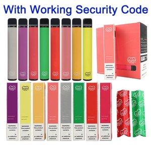 puff bars Bar Plus Disposable Device 550mAh Battery 800+ Puffs 3.2ml Pod 8 Colors No Maintenance Charging or Refilling