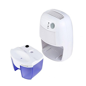 500 ML Portátil Mini Desumidificador Para Umidade Doméstica Absorvente Secador De Ar LED Indicador De Desumidificador De Ar