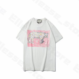 Neu kommen 20ss Sommer-Frauen Designer-T-Shirts Tier-T-Shirts Marke Mode kurze Hülsen-Dame Tees Beiläufigen Kleidung Top Kleidung Mens