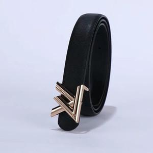 موضة 2020 عالية الجودة حزام من الجلدLV الإناث الماشية الذهب الفضة إلكتروني الأسود مشبك معدني لحزام الإناث مشبك السلس