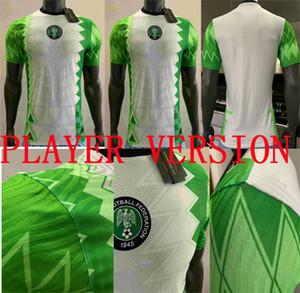 2020 لاعب النسخة موسى MUSA جيرسي الرئيسية لكرة القدم قميص OSIMHEN IHEANACHO NDIDI 20 21 مايوه نيجيريا TOP الجودة لكرة القدم قميص