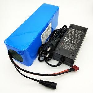LiitoKala 36V bateria de lítio 36V 10AH bicicleta elétrica da bateria 36 V 20Ah 1000W Scooter bateria com 30A BMS 42V 2A charger