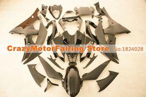 4Gifts Новый ABS прессформы мотоцикла пластиковые обтекатели комплекты, пригодный для YAMAHA YZF-R6-600 2008-2016 08 09 10 11 12 13 14 15 16 кузова набор черный