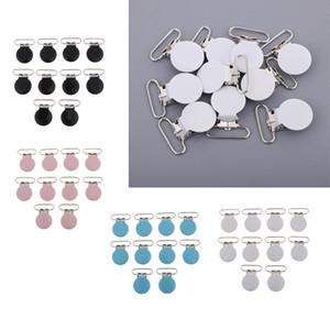 Sahte diş kaşıyıcınız Klipler Önlüğü Klip Oyuncak Holder 40 Metal emziği Klipler Paketi / Suspender Klipler