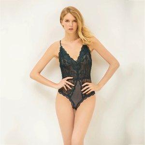 Europa e nova ultra-fina e transparente sexy tentação Shi Leisi feminina Siamese sexy lingerie Factory Outlet