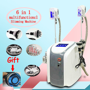 Cryolipolysis Fat Gel machine taille amincissant RF Cavitation machine Lipo Laser 2 têtes Cryo Can Work At The Same Time CE / DHL