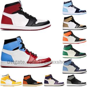 Erkekler Kadınlar Korkusuz 1S Basketbol Ayakkabı 1 Shattered Arkalık 3.0 Obsidian UNC First Class Uçuş TURBO YEŞİL Mens Trainer Spor Spor ayakkabılar