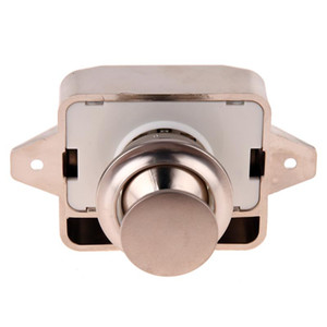 Mini pulsante di blocco della serratura Blocco della serratura Armadio Manopola Camper Camper Camper Armadio camper Chiusura a scatto