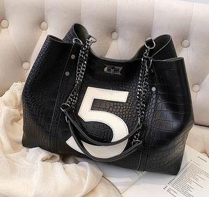 HBP New Alligator PU-Leder Umhängetaschen für Frauen Hohe Qualität Luxus Handtaschen Messenger Bag Große Tasche Lady Große Kapazität Handtasche